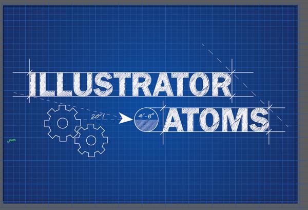 Make a blueprint illustration illustrator atoms httpwww make a blueprint illustration illustrator atoms httpillustratoratoms malvernweather Images