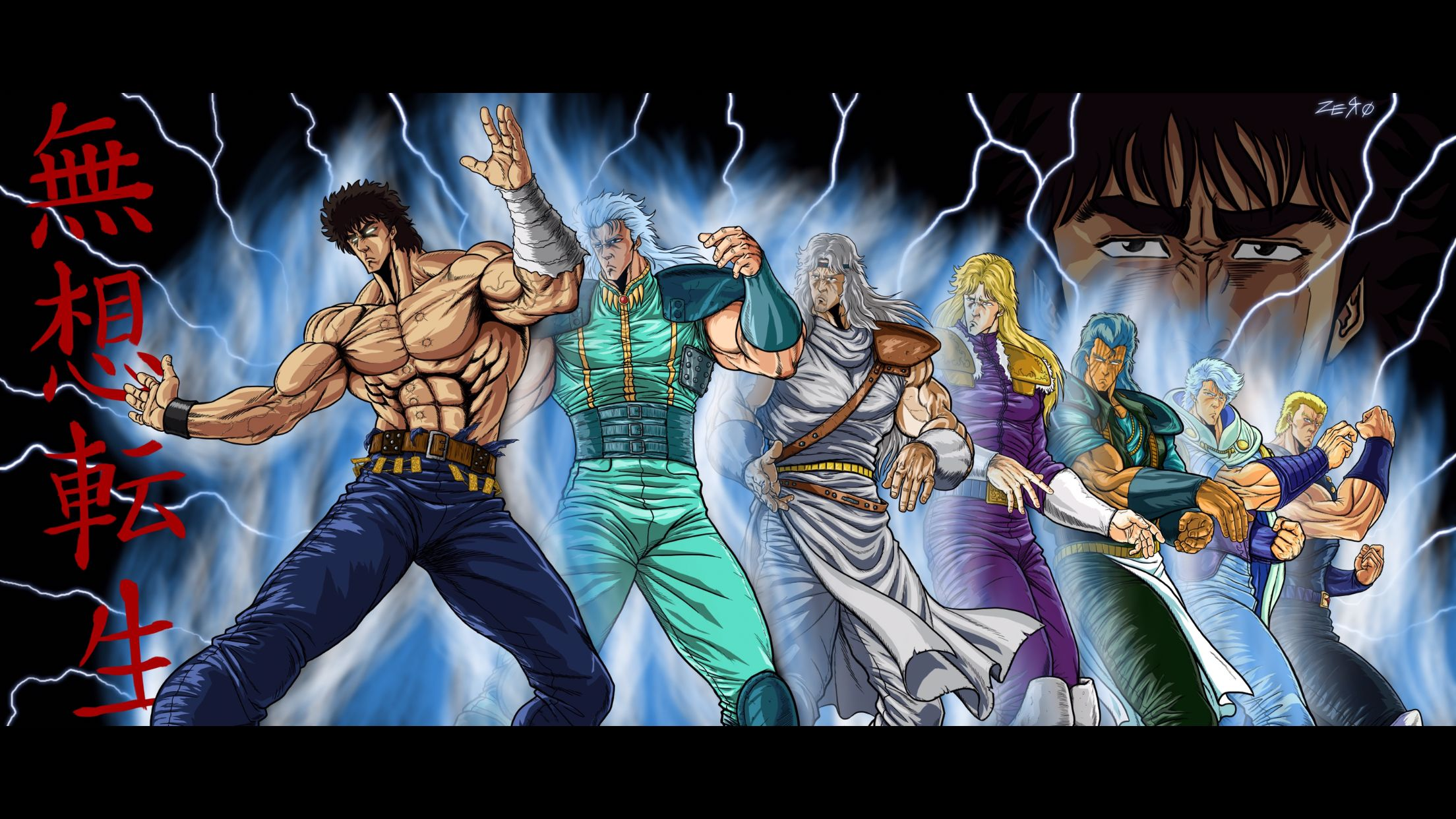 Ken il guerriero la leggenda di hokuto nel cuore dei fans di tutto