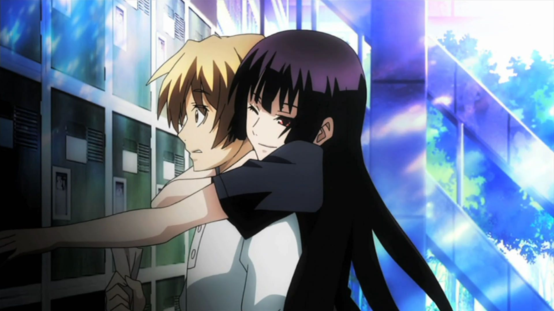 Yuuko and Teiichi Anime, Anime romance, Dusk maiden of