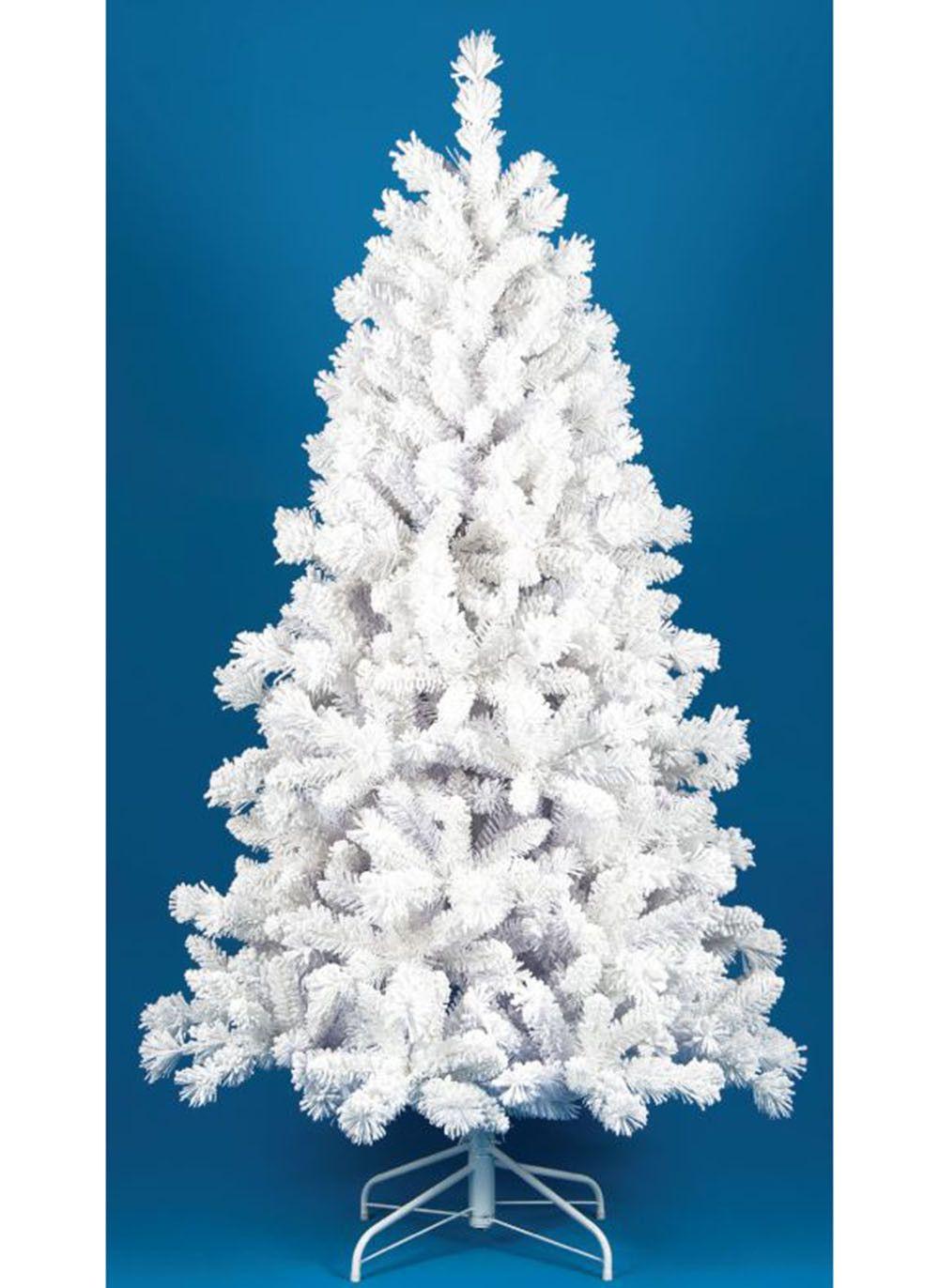 Foot Ohio White Flocked Artificial Christmas Tree Unlit