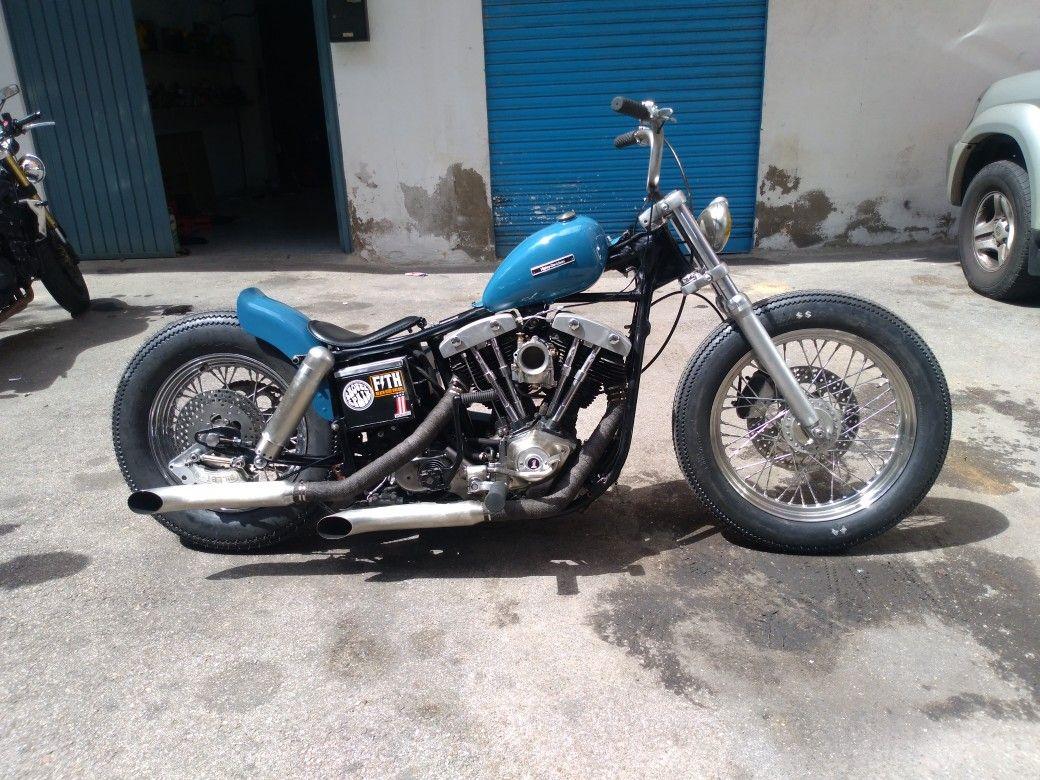 Shovelhead Shovel Harley Bobber Japan Style Harley Davidson Harley Davidson Pictures Harley Shovelhead [ 780 x 1040 Pixel ]