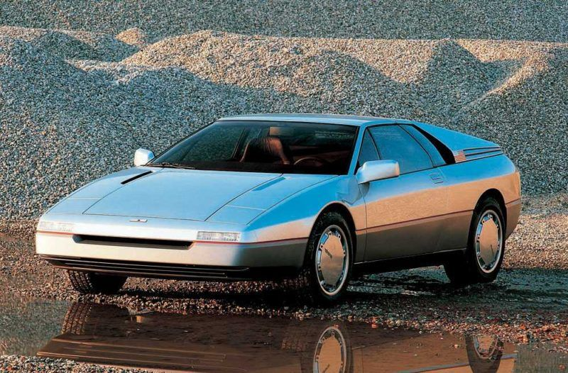Amazing Concept Cars That Defined The 80 S And 90 S Concept Cars Super Cars Futuristic Cars