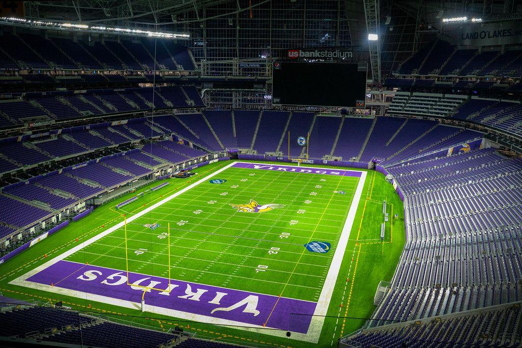 Us Bank Stadium In 2020 Minnesota Vikings Minnesota Vikings Football Nfl Stadiums