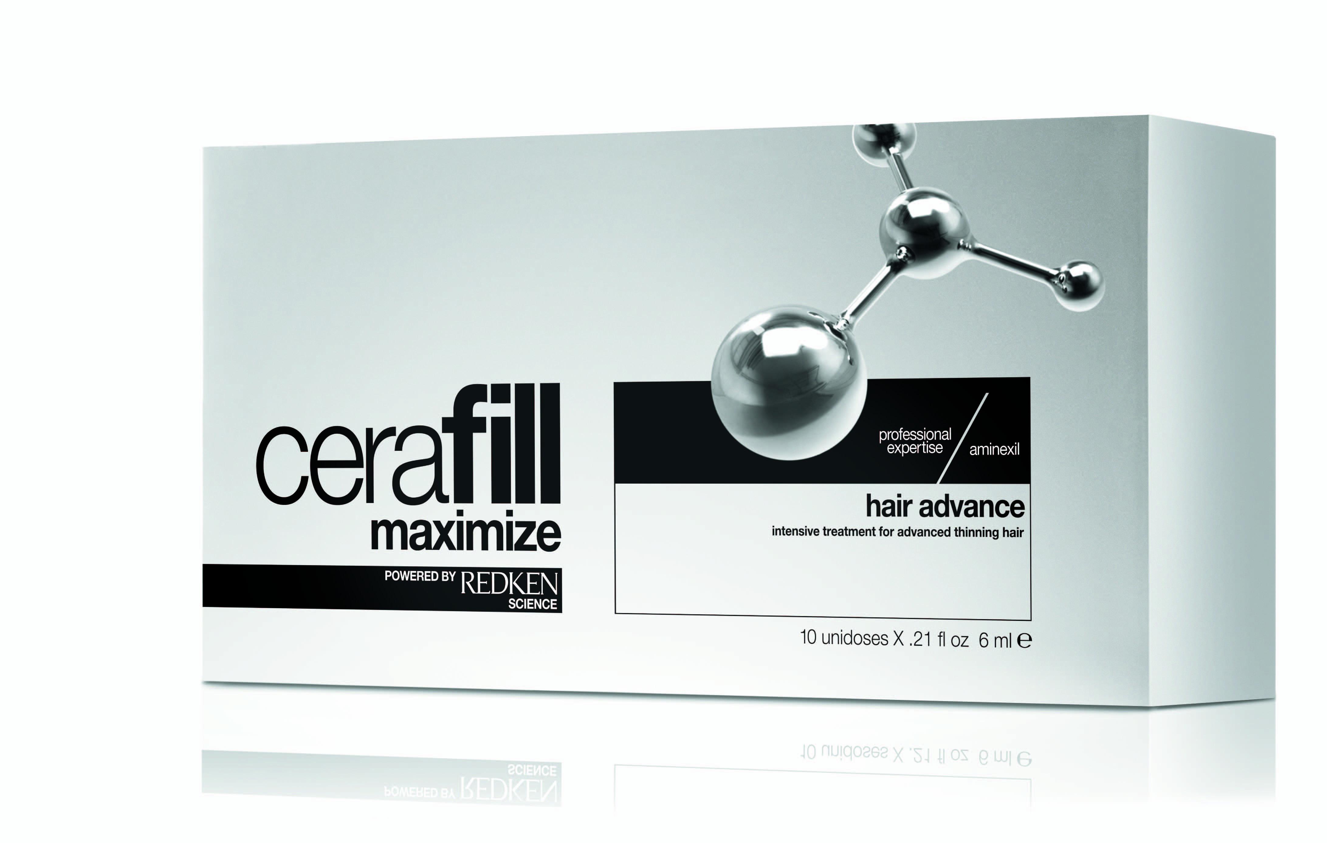 REDKEN CERAFILL MAXIMIZE HAIR ADVANCED 6MLX10 CC