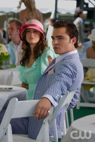 """""""Reversals of Fortune""""  Pictured: Leighton Meester as Blair, Ed Westwick as Chuck  Photo Credit: Giovanni Rufino / The CW  © 2009 The CW Network, LLC. All Rights Reserved."""