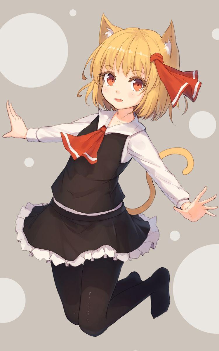 ルーミア 1 東方 かわいい 可愛いアニメガール アニメのネコ