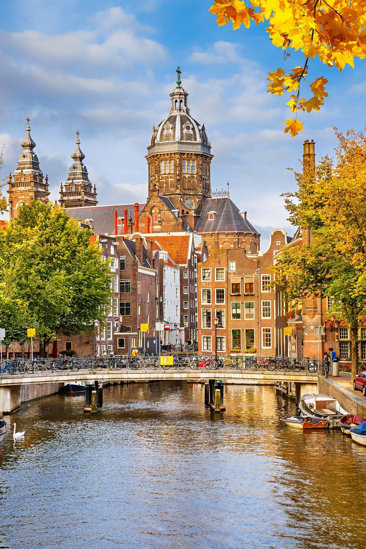 St. Nicholas Church is Amsterdam's most important Roman Catholic Church and is one of the city's most recognizable icons thanks to striking Neo-Baroque and Neo-Renaissance features. See it on your trip to the Netherlands!
