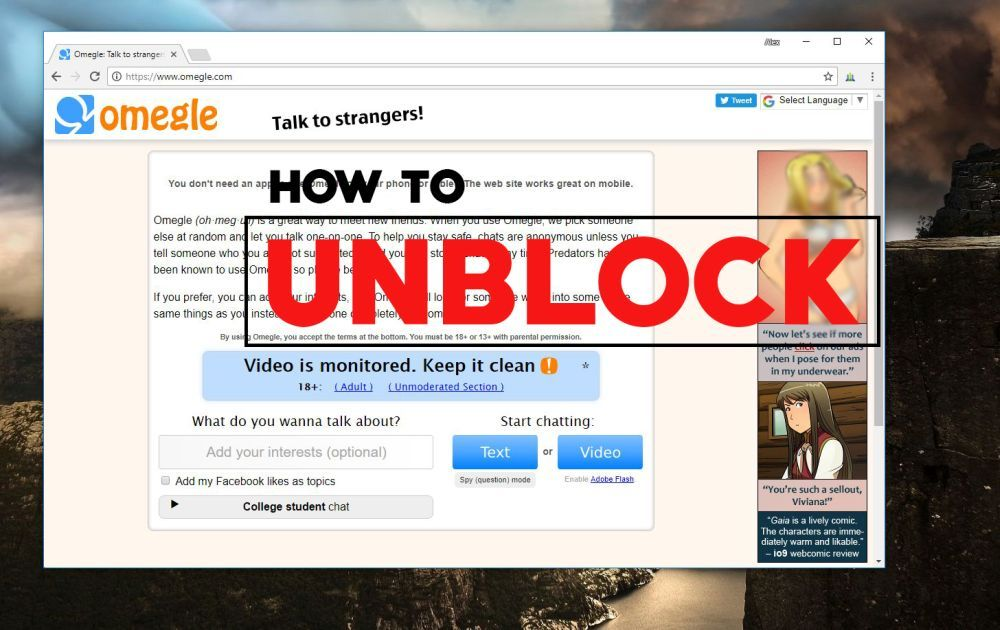 Best VPN for Omegle: How to Unblock or Unban Your Account