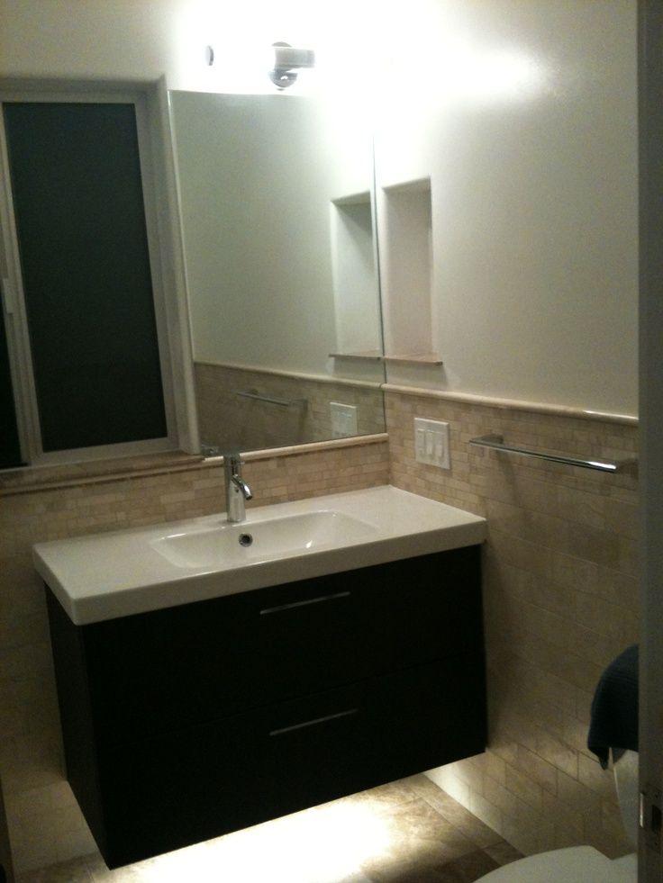 Get Ikea Floating Bathroom Vanity Using Kitchen Cabinets In 2021 Floating Bathroom Vanities Ikea Bathroom Furniture Ikea Vanity