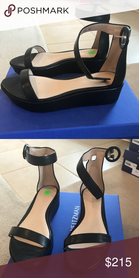 2dc18fdc889 Stuart Weitzman Capri Nero Fits true to size Made in Spain Stuart Weitzman  Shoes Platforms