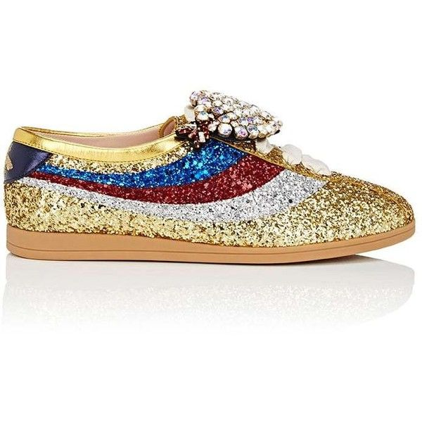 ffe4a37e936 Gucci Women s Falacer Glitter Sneakers ( 1