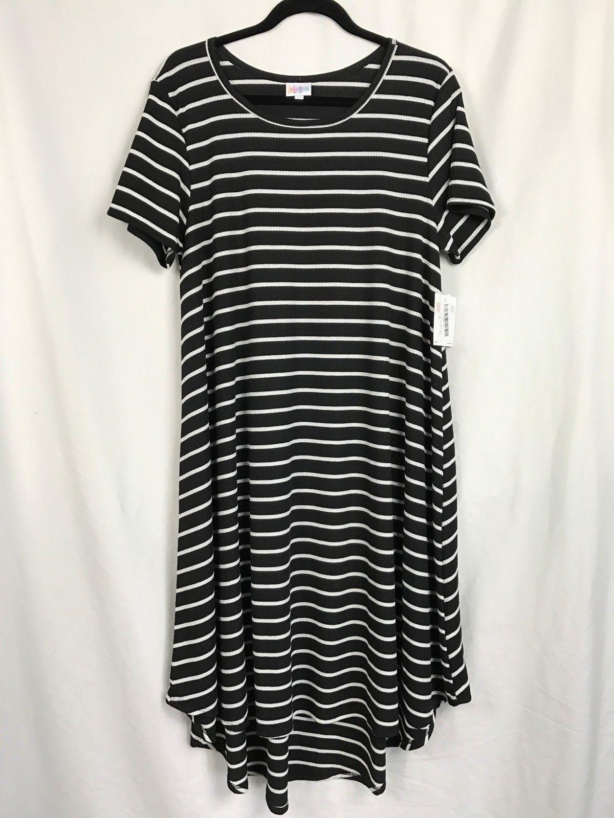 LuLaRoe Carly Large Black & White Stripedl! UNICORN!!! NWT https://t.co/HhxFWt9Xnz https://t.co/EWfd7hxbNZ