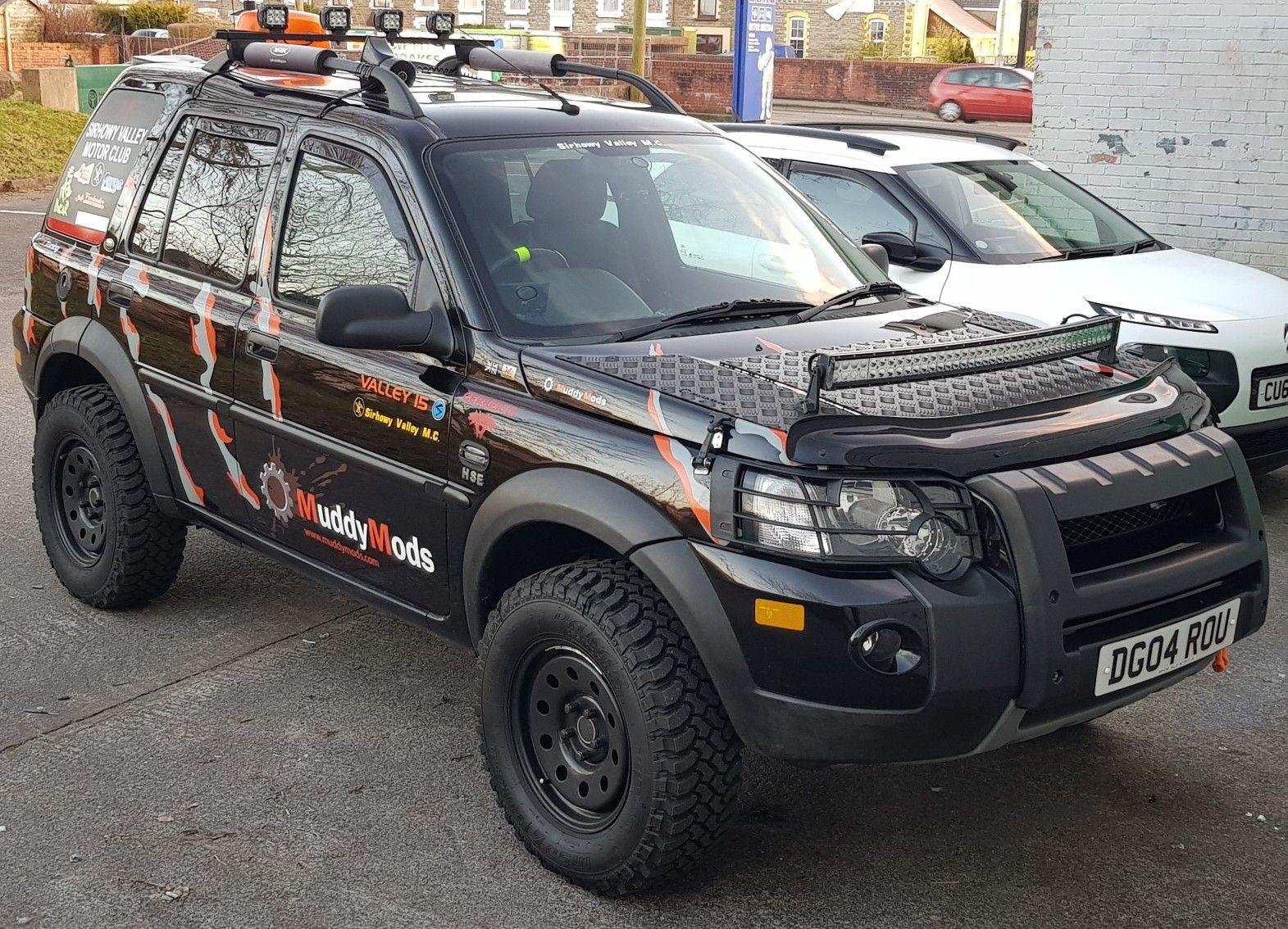 Cerberus Freelander Td4 Auto Hse Land Rover Freelander Land Rover Overland Vehicles