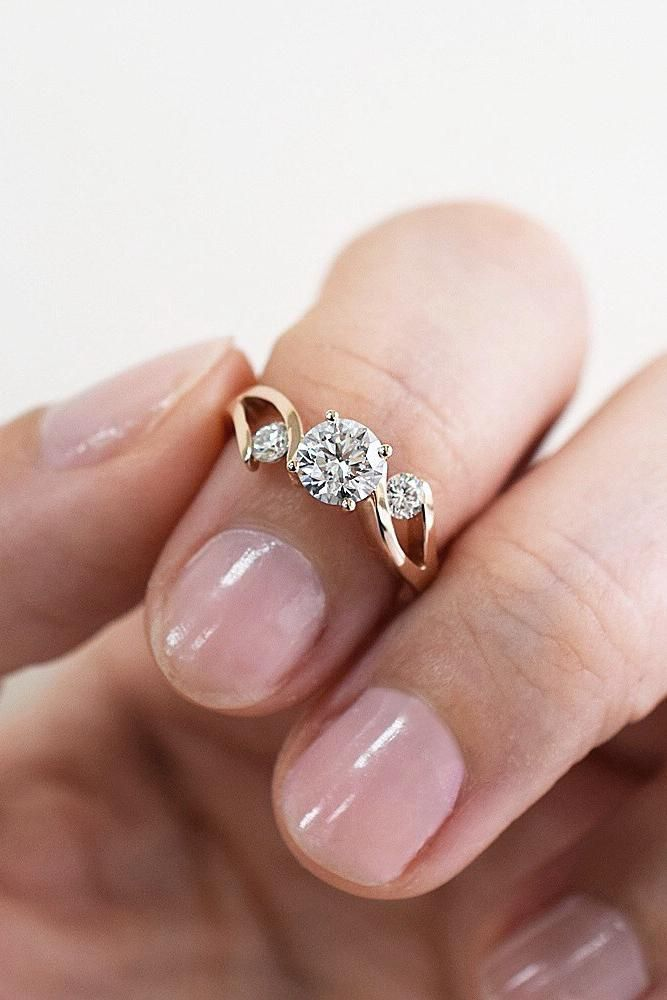 "36 Gold Engagement Rings You'll Want To Say ""Yes"" To"