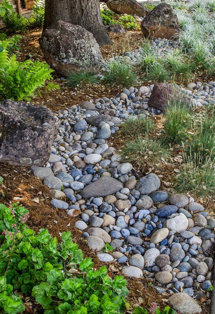 110 Awesome Dry River Bed Landscaping Design Ideas You ...