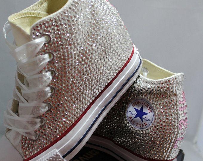 Sneakers con zeppa Full Converse Converse matrimonio