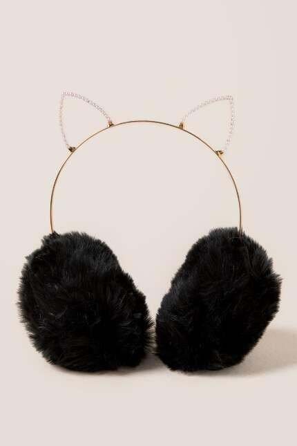preț rezonabil întâlni cumpara cel mai bine Raisa Cat Ear Pearl Earmuff | Head phones
