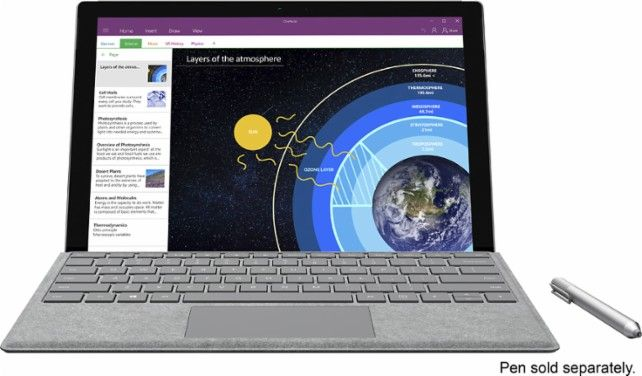 Best Buy Deal Of The Day Microsoft Surface Pro 4 12 3 128gb Intel Core M3 Bundle Wit Microsoft Surface Microsoft Surface Pro Microsoft Surface Pro 4