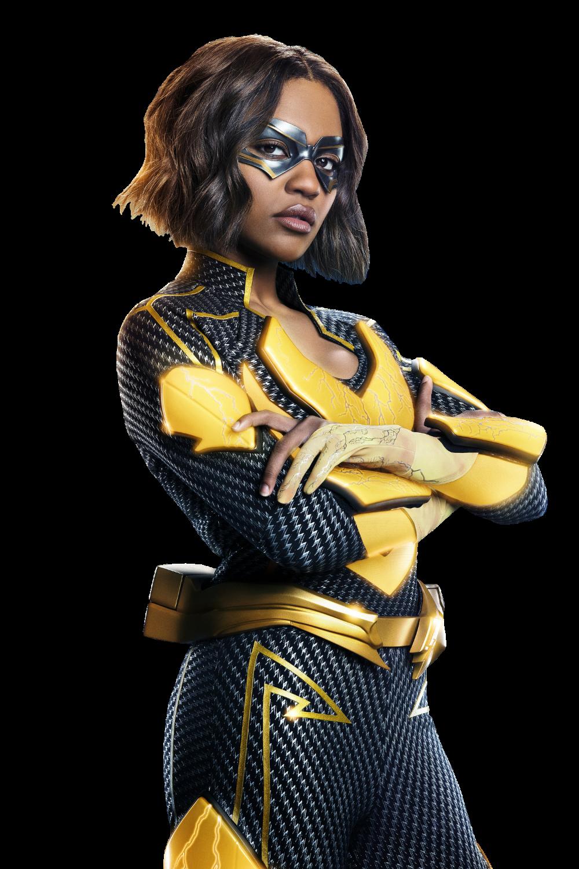 Black Lightning Jennifer Pierce Black Lightning Girl Actors Female Hero
