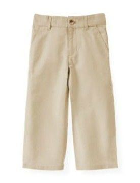Classic Details & Casual Style ~ Khaki Pants For Little Lads