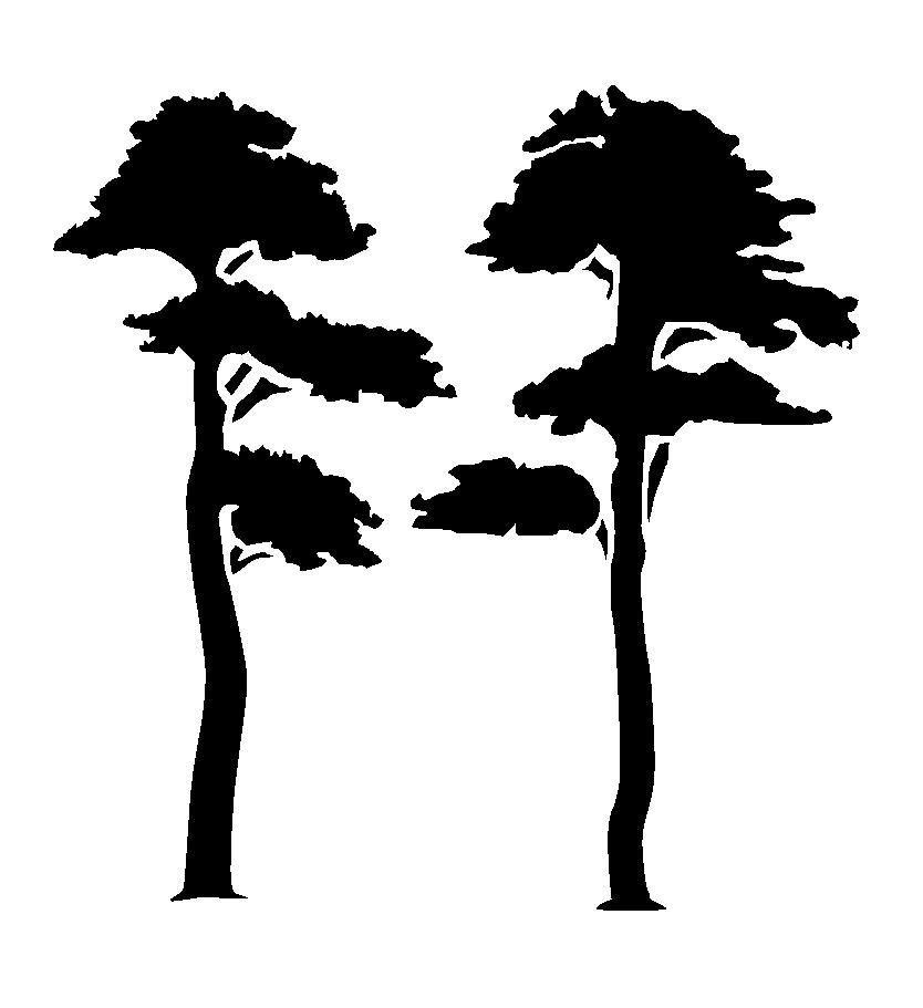 Details about tree stencil 1 craftfabricglassfurniture