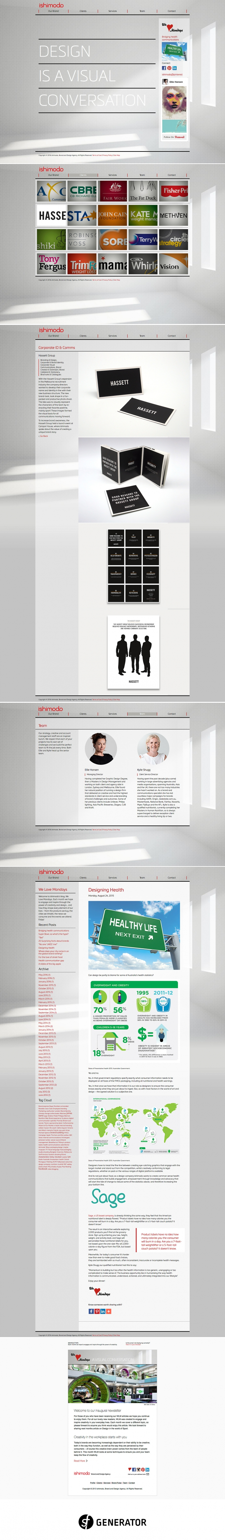 Web development of the ishimodo brand agency website portfolio and web development of the ishimodo brand agency website portfolio and email template using the cheaphphosting Choice Image