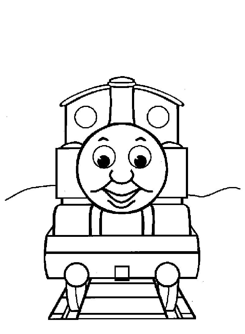 - Thomas The Train Coloring Pages Ideas Train Coloring Pages