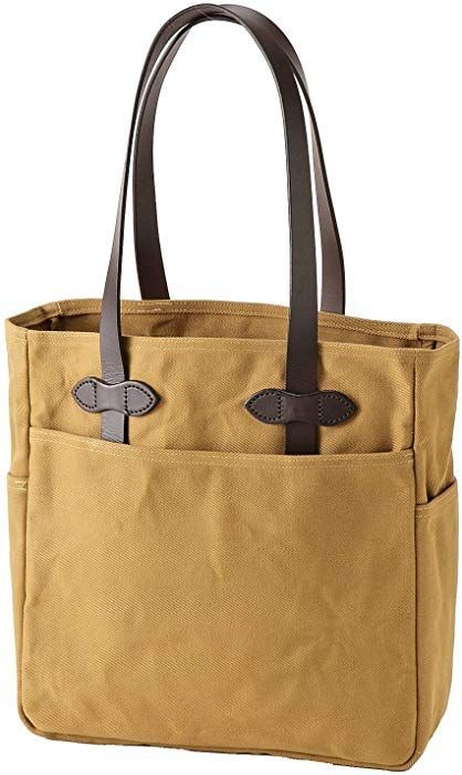 Photo of Rugged Twill Tote Bag Color: Tan