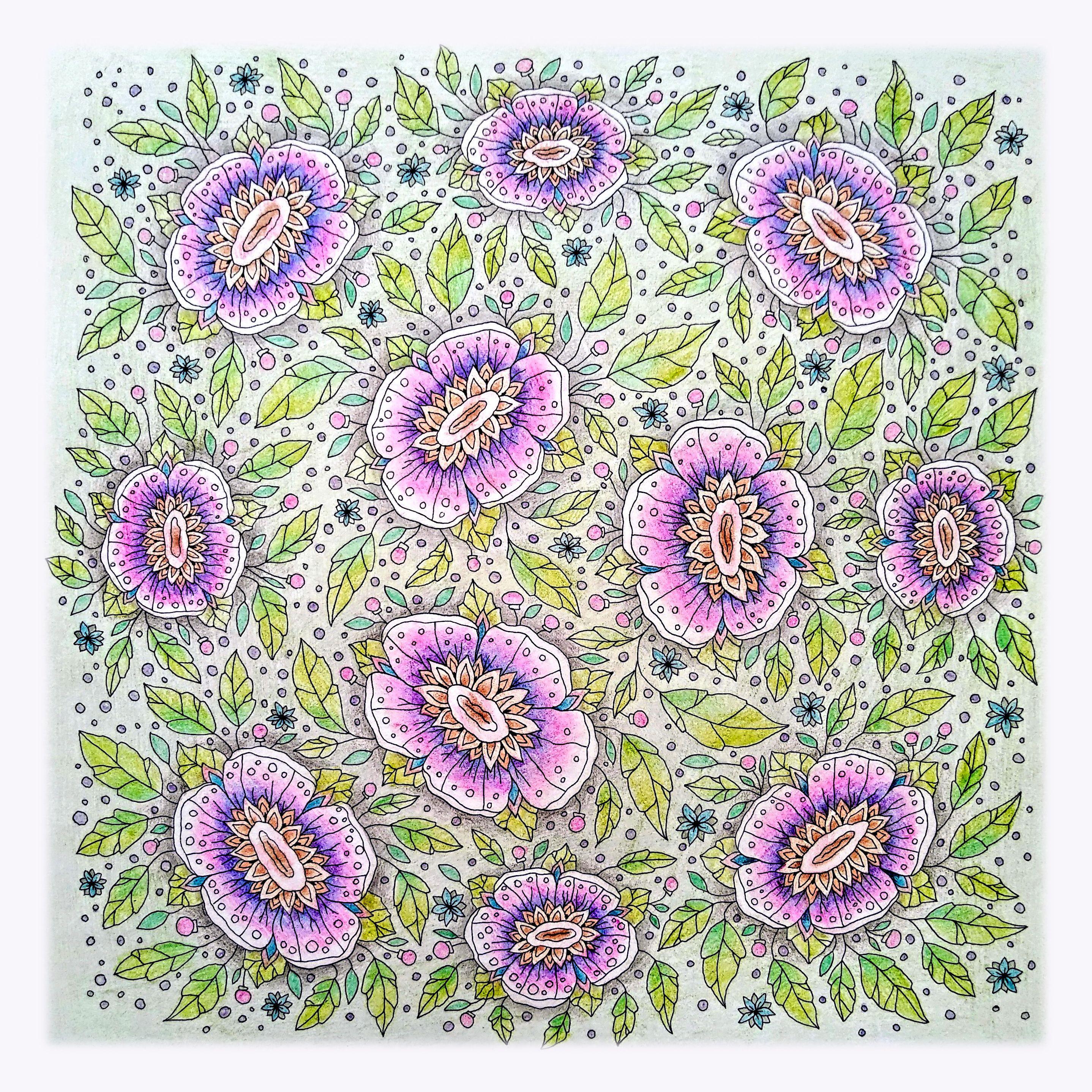 Идея #цветы. Скачать раскраски в хорошем качестве. в 2020 ...