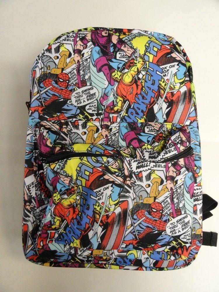 c9162d84348 Marvel Comics PRINT ALL OVER Backpack 16