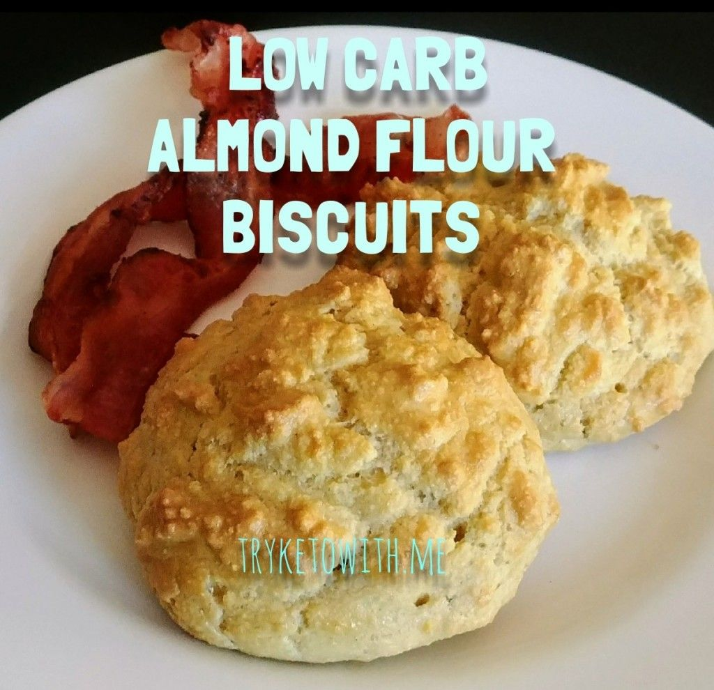 Keto Almond Flour Drop Biscuits - TryKetoWith.Me