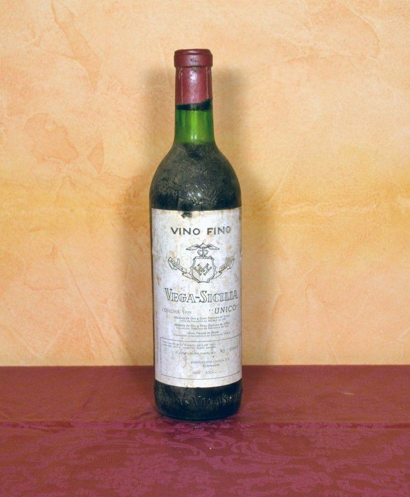 Vega Sicilia Unico 1959 Ribera Del Duero Tuhistoria Es Bodegas Vega Sicilia Sicilia Vino Rioja