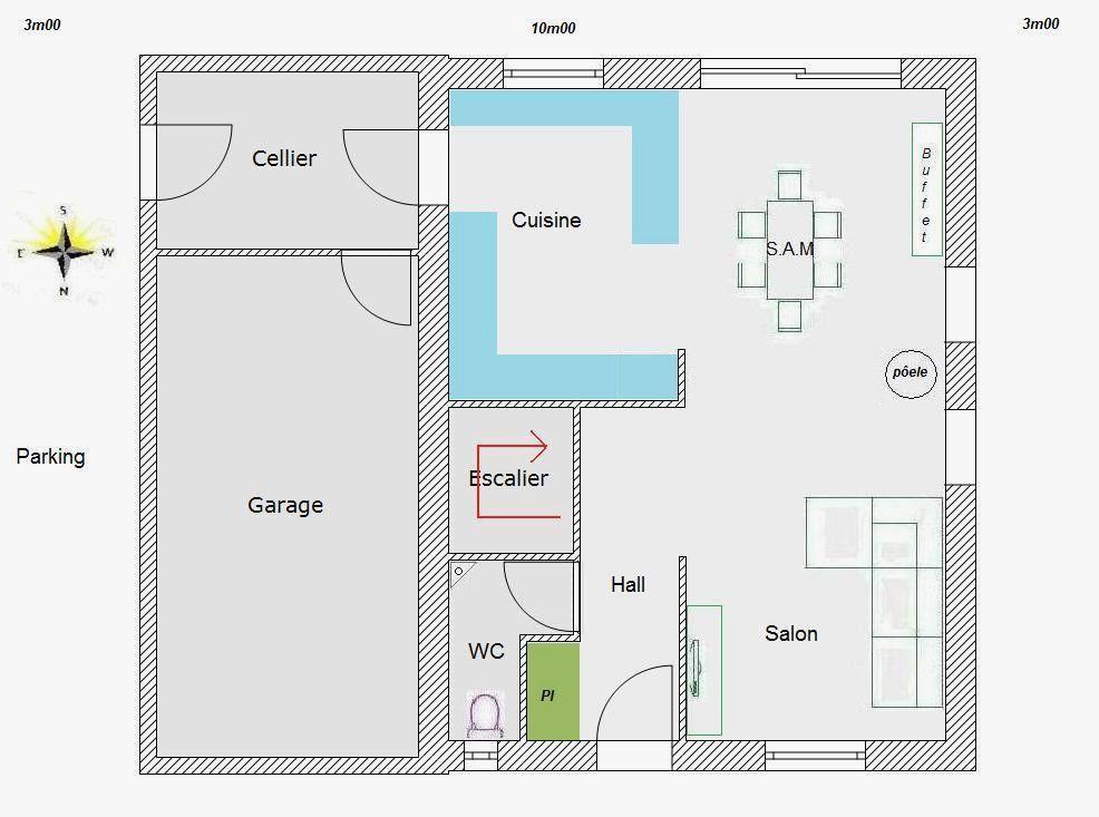Plan Maison R 1 100m2 Source D Inspiration