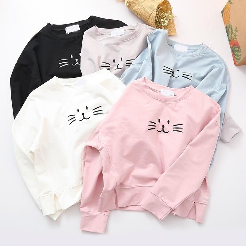 Cute cat sweatershirt  cbf0c4fa18e2