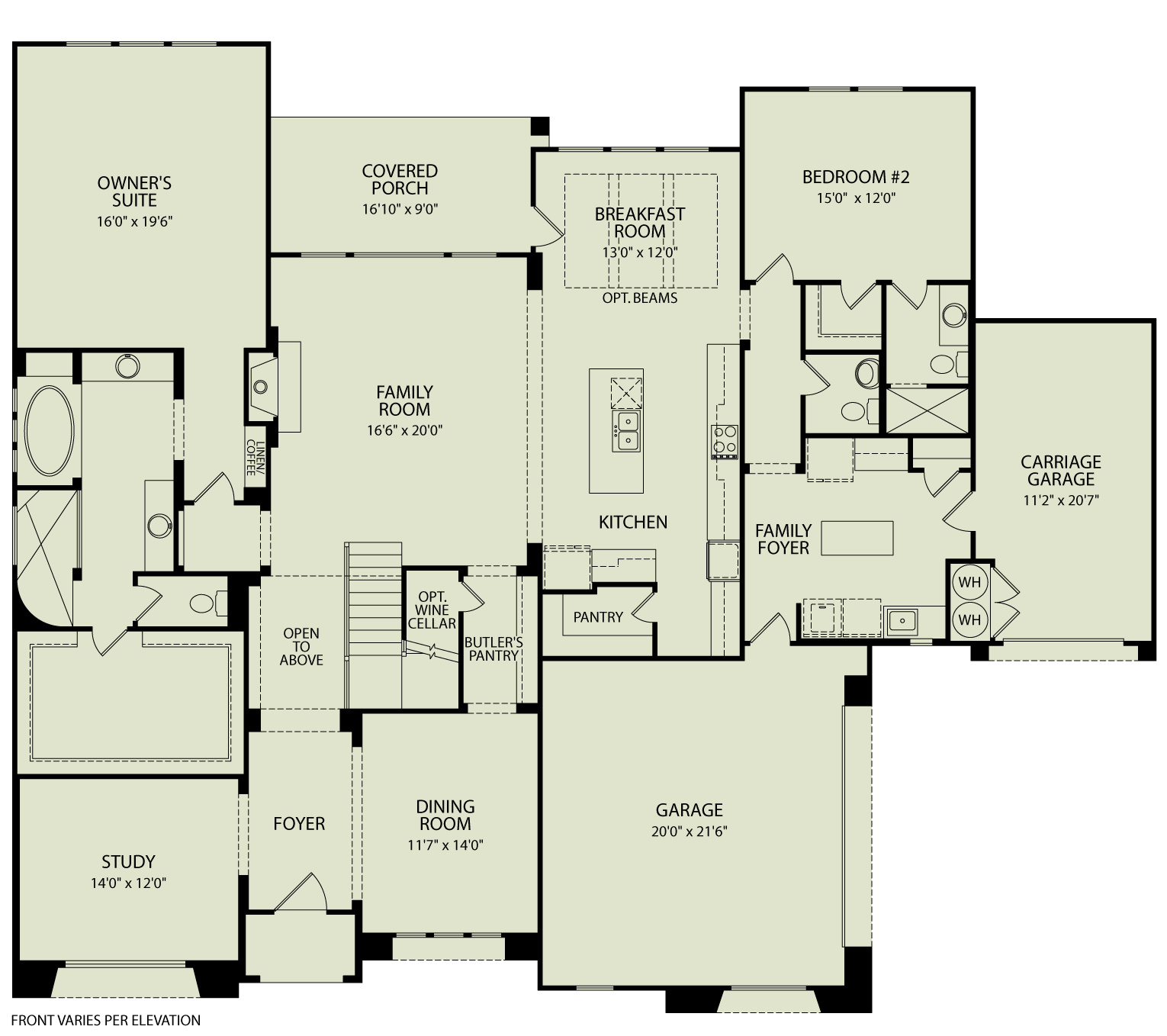 Colinas ii 125 drees homes interactive floor plans for Interactive floor plans