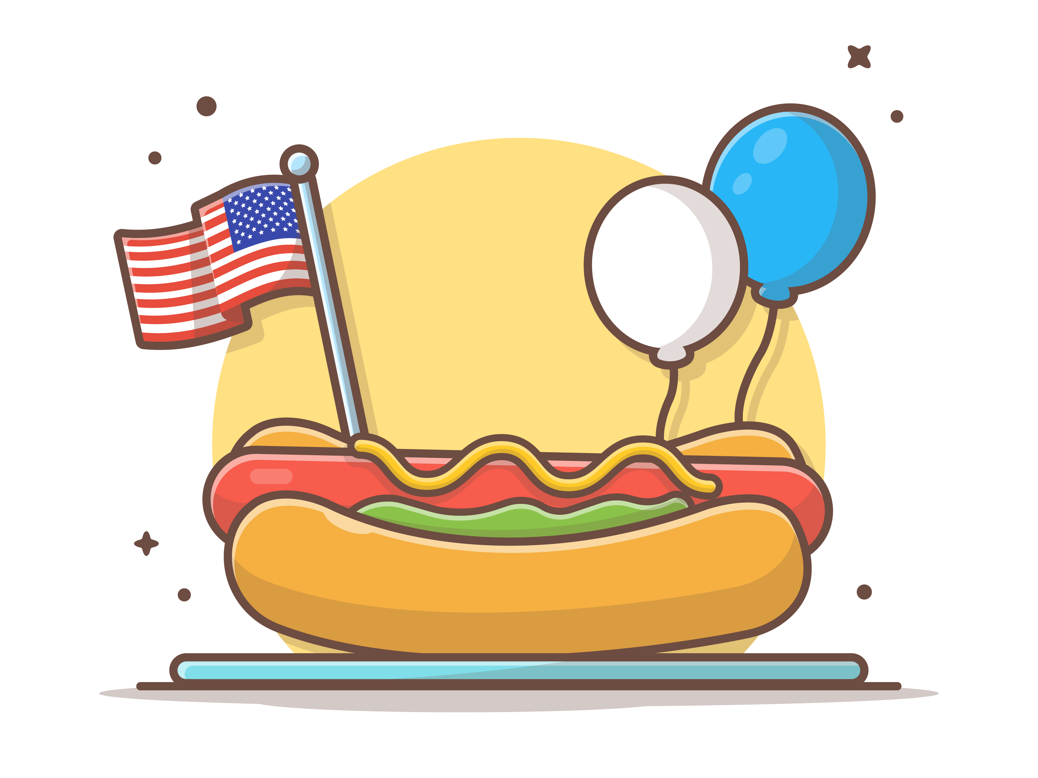 Happy Independence For Our American Friends Happy Independence Cartoon Styles Cute Drawings