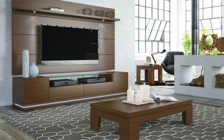 Muebles para tv con dise o moderno a la ltima nhady for Diseno de muebles para tv modernos