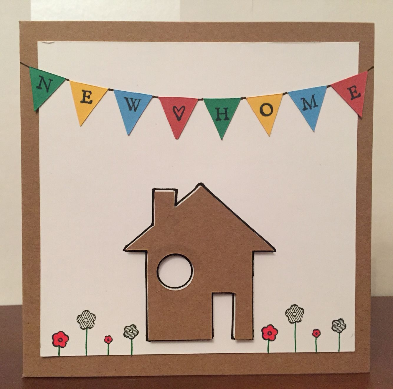 Handmade New Home Card Welcome Home Cards New Home Cards