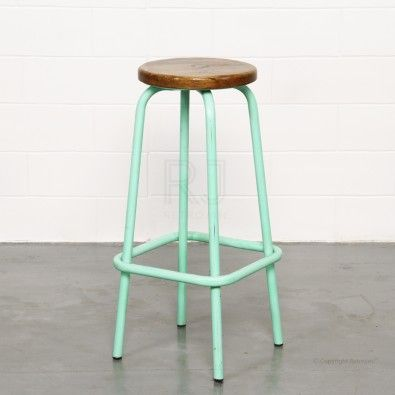 Buy Clifford Stool Mint Green Online Stools Chairs Retrojan