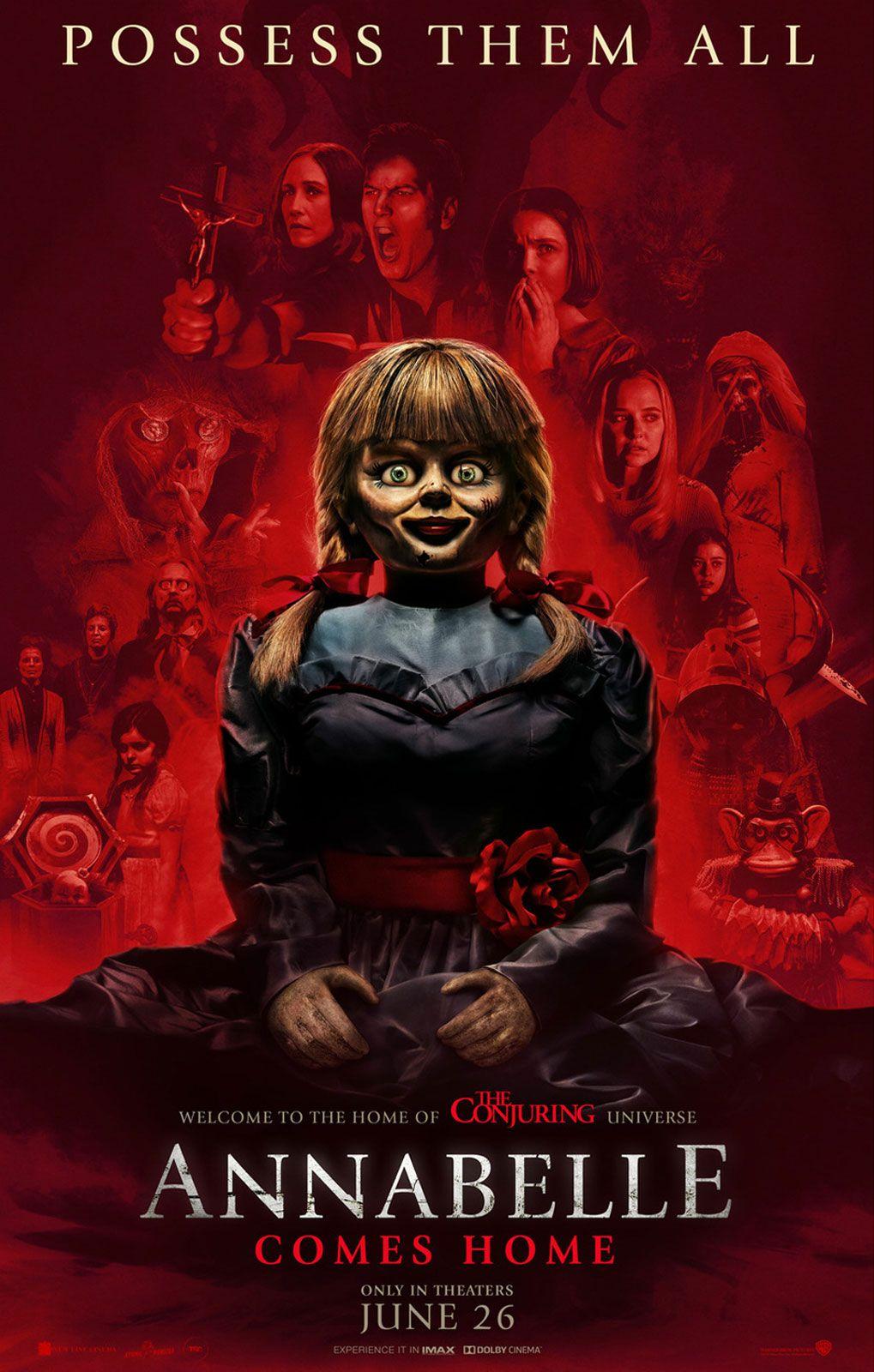 Annabelle 3 De Volta Para Casa Resenha Meta Galaxia Melhores Filmes De Terror Filme Annabelle Invocacao Do Mal