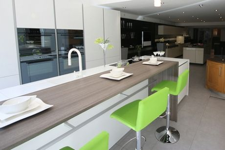 Ex display Poggenpohl LD 710 Kitchen with Island and Appliances. Ex display Poggenpohl LD 710 Kitchen with Island and Appliances