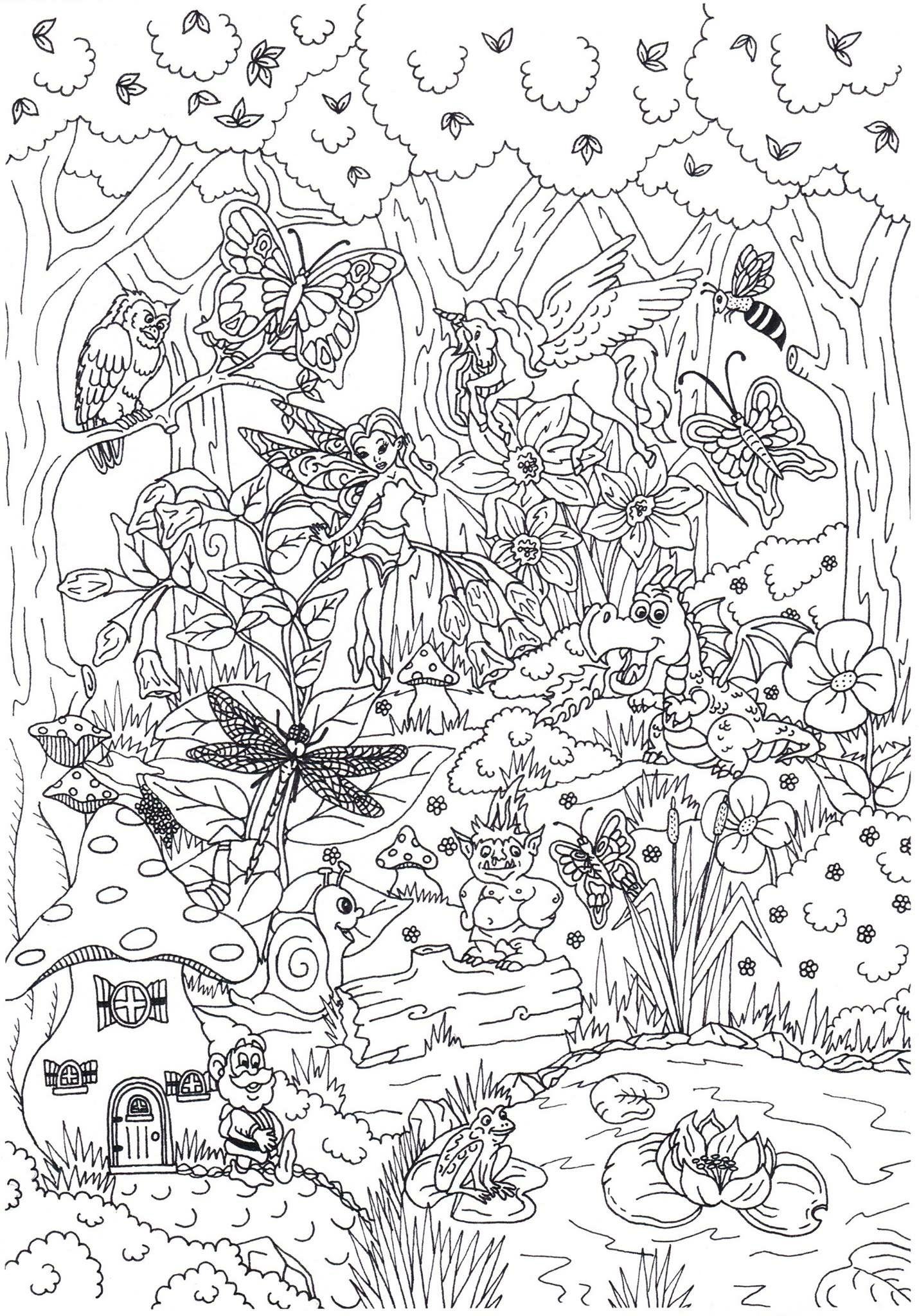 Pin By Wendy Brown On Kleurplaten Fairy Coloring Pages Cute Coloring Pages Fairy Coloring