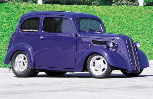 1951 Ford Anglia Featured Vehicles Hot Rod Network Ford Anglia Hot Rods Cars Ford Trucks