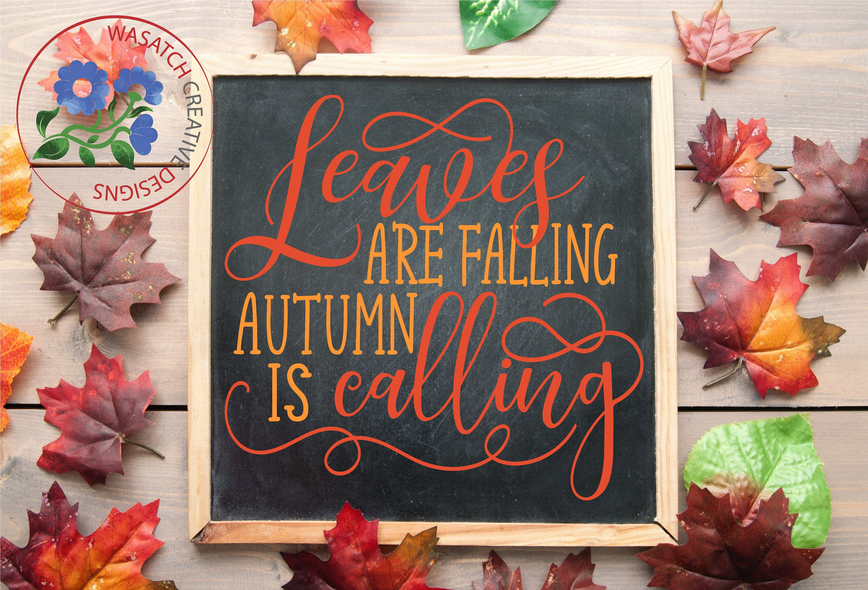 Leaves Are Falling Autumn Is Calling Svg Svg Files Cricut Etsy In 2020 Christmas Svg Fall Projects Cricut