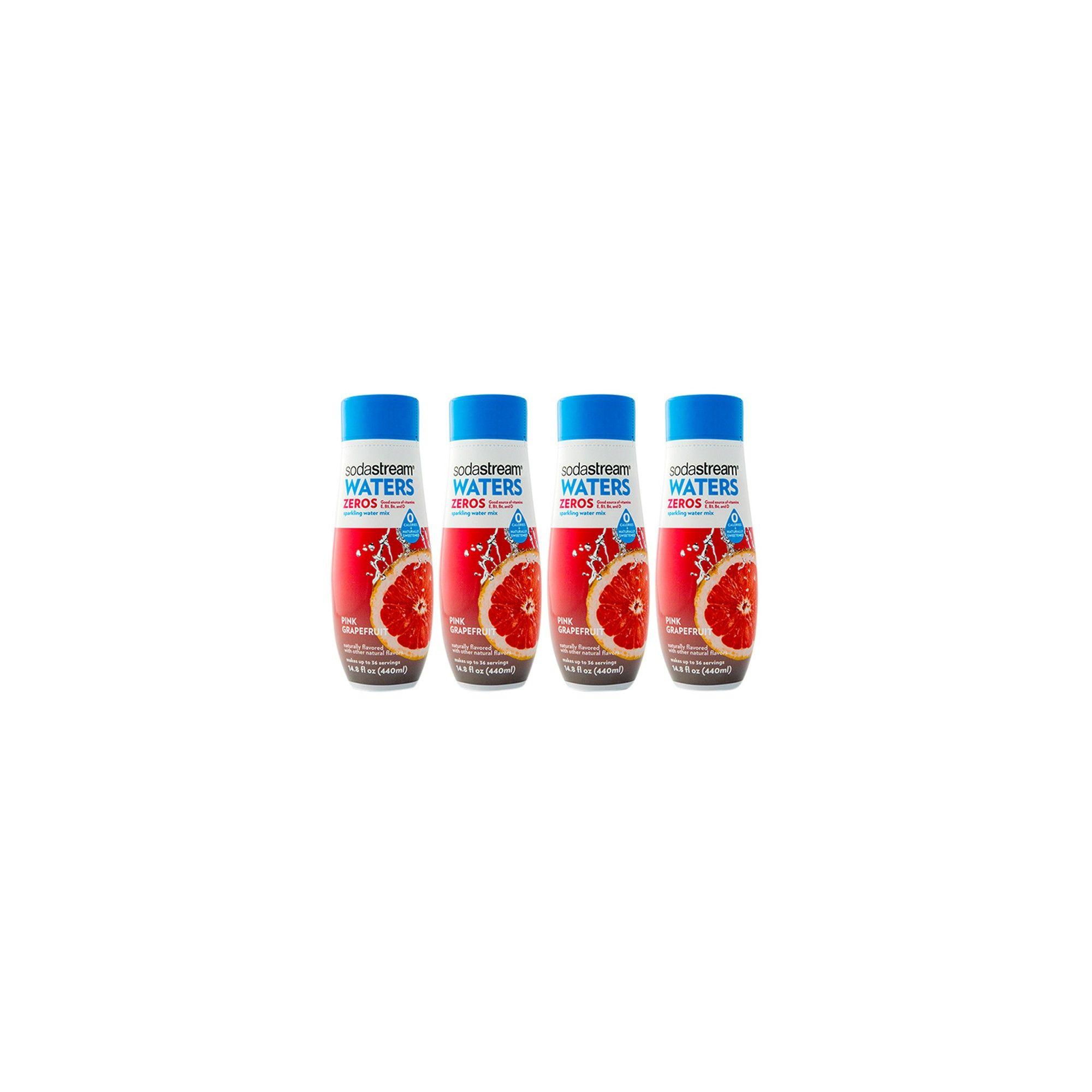 SodaStream Pink Grapefruit Zero Calorie 440ml 4pk | Products | Pink