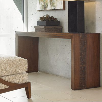 Tommy Bahama Home Island Fusion Turtle Console Table