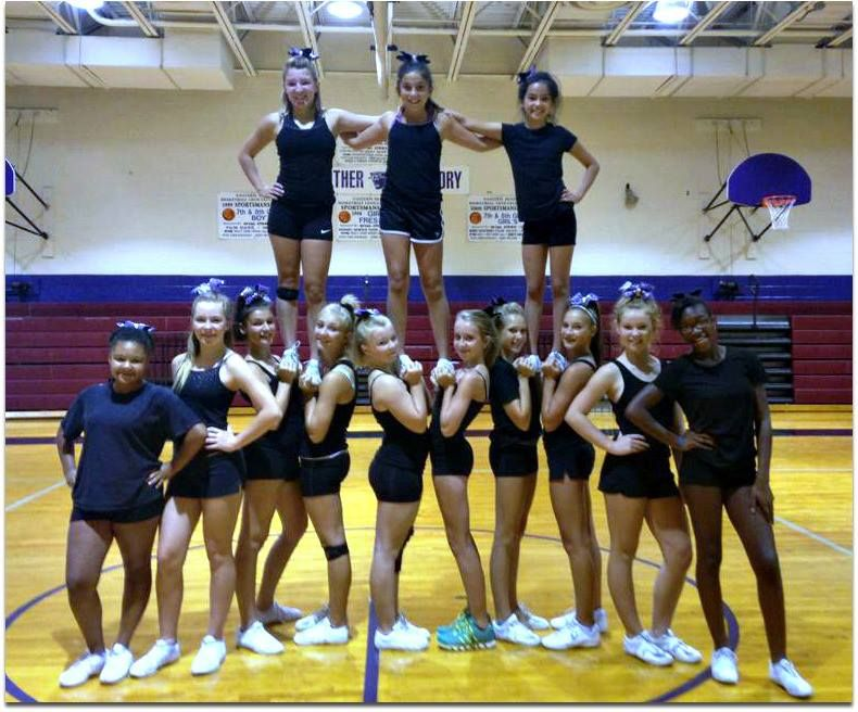 Pin by The Panther Ladies TAKEOVER on CHEERLEADING