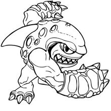 Terrafin Coloring Page Coloring Page Super Heroes Coloring