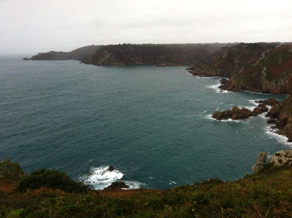 Around the cliffs St Martins
