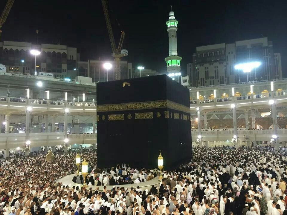 This Was Taken After Tarawih Prayers Last Night Ramadan Is Definitely In The Air Say Alhamdullilah Mekah